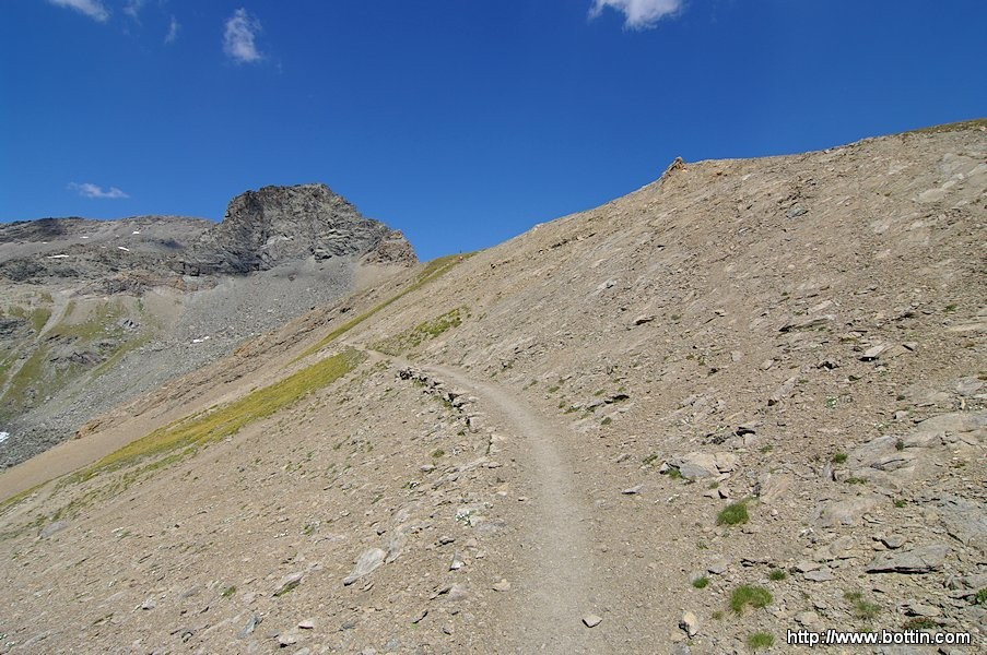 Gran Paradiso - Path to Leynir Pass